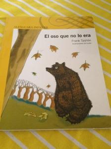 El oso que no lo era